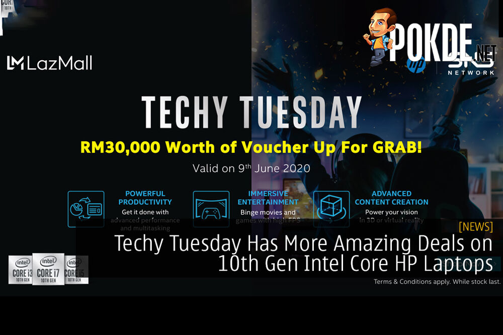 Techy Tuesday Has More Amazing Deals on 10th Gen Intel Core HP Laptops To Enhance Your E-Learning Experience