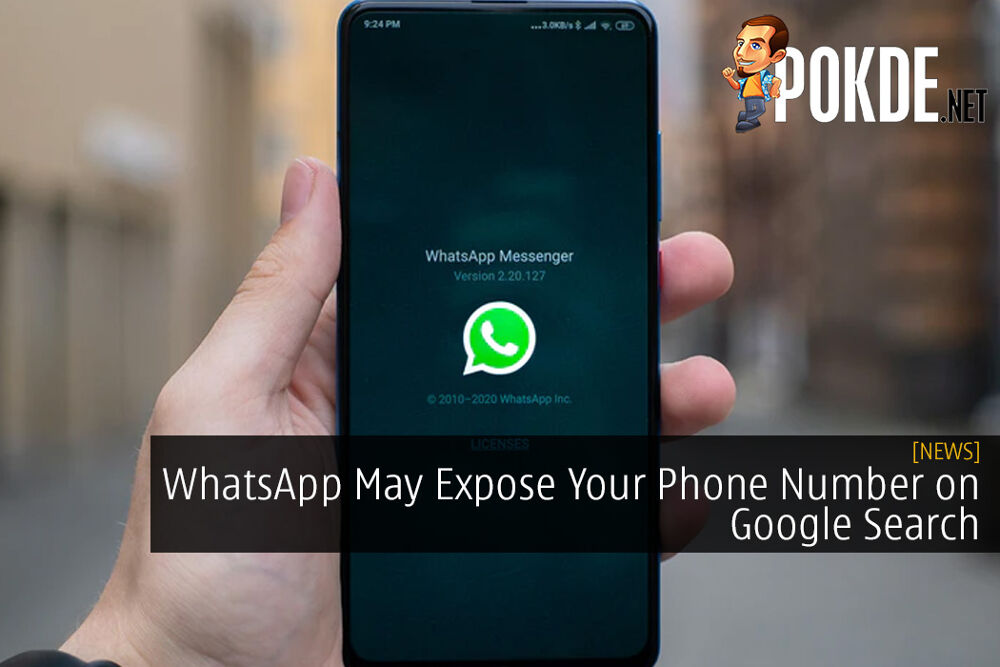 WhatsApp May Expose Your Phone Number on Google Search