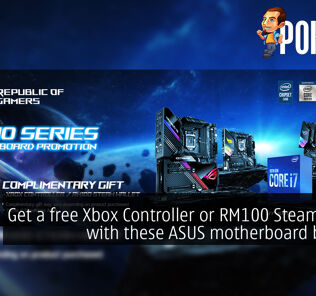 Get a free Xbox Controller or RM100 Steam Wallet with these ASUS motherboard bundles 24