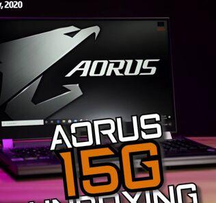 Unboxing - Gigabyte Aorus 15G 25