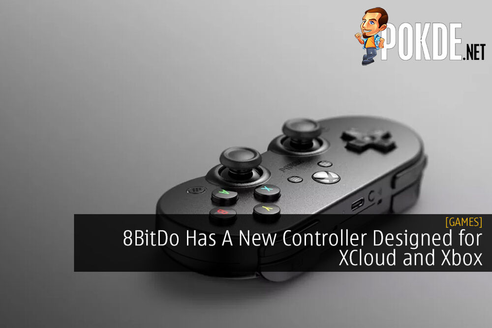 8BitDo Has A New Controller Designed for Microsoft XCloud and Xbox
