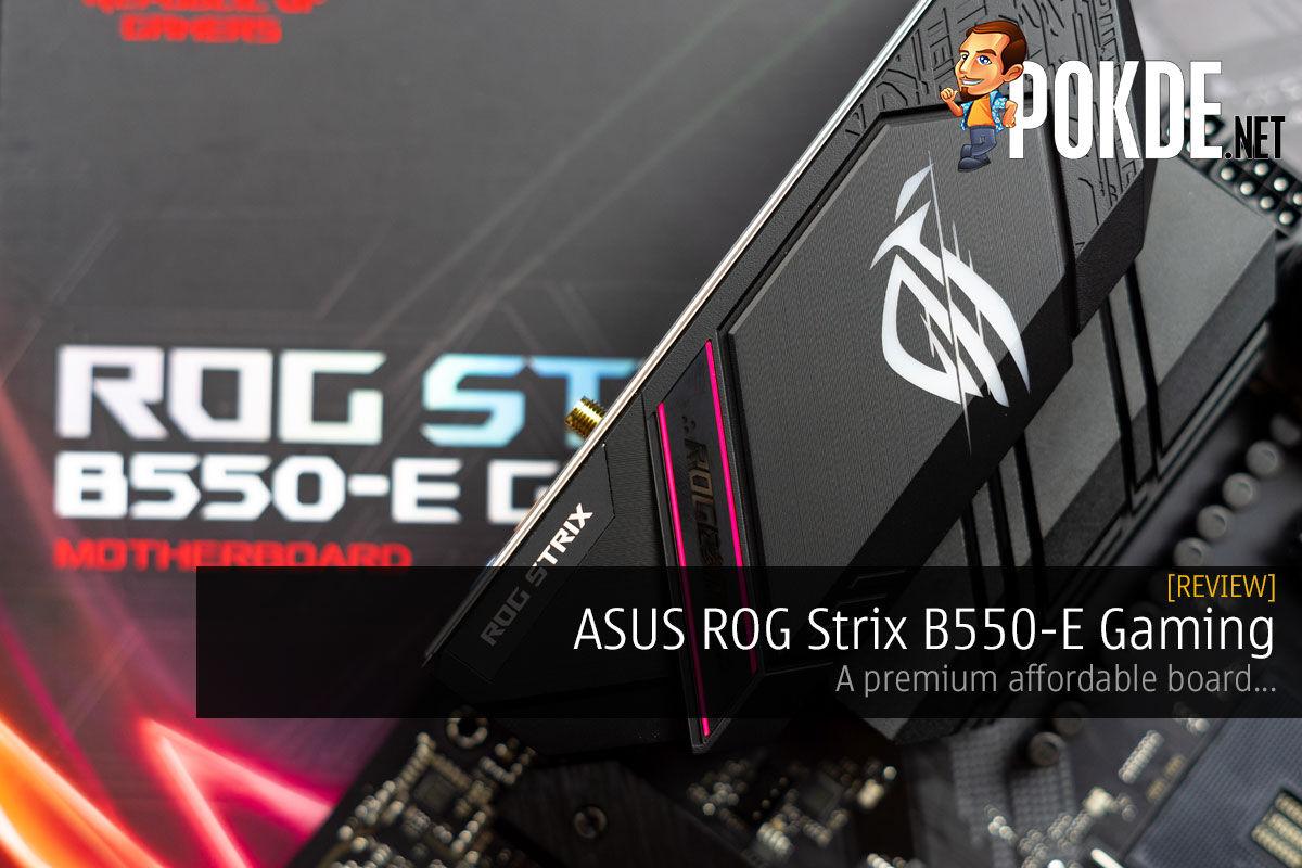 ASUS ROG Strix B550-E Gaming review cover