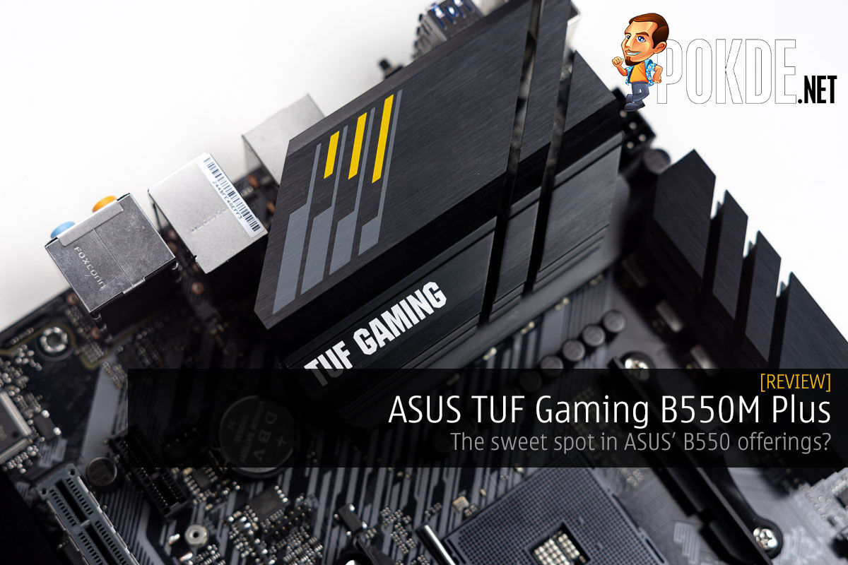 ASUS TUF Gaming B550M Plus Review — the sweet spot in ASUS' B550 offerings? 12
