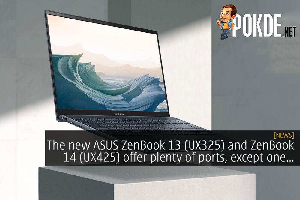 ASUS Zenbook 13 (UX325) ZenBook 14 (UX425) cover