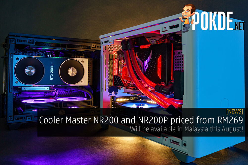Cooler Master NR200 malaysia price cover