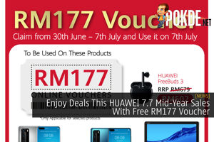 Enjoy Deals This HUAWEI 7.7 Mid-Year Sales With Free RM177 Voucher 36