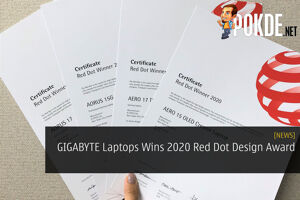 GIGABYTE Laptops Wins 2020 Red Dot Design Award 29