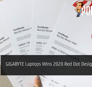 GIGABYTE Laptops Wins 2020 Red Dot Design Award 25