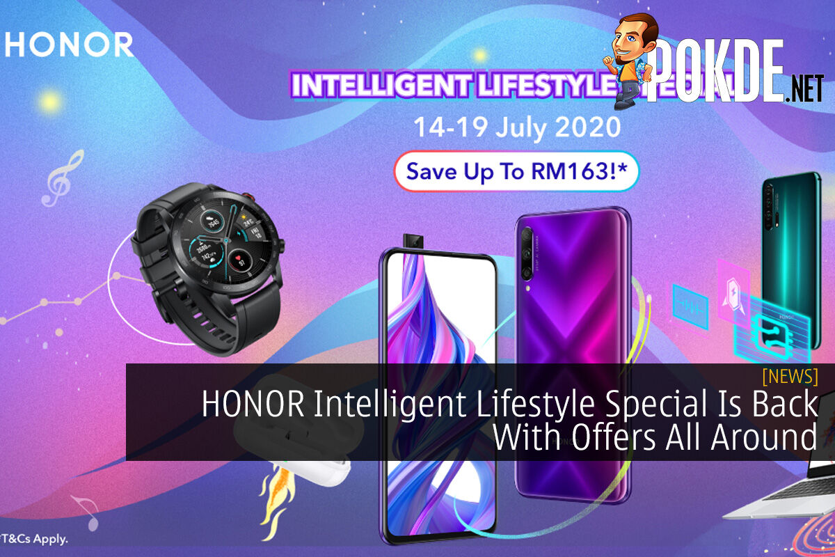 HONOR Intelligent Lifestyle Special Is Back With Offers All Around 8