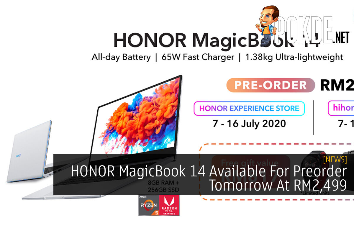 HONOR MagicBook 14 Available For Preorder Tomorrow At RM2,499 8
