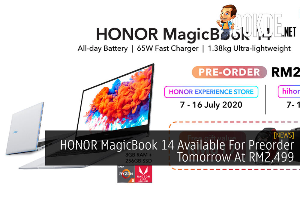 HONOR MagicBook 14 Available For Preorder Tomorrow At RM2,499 28