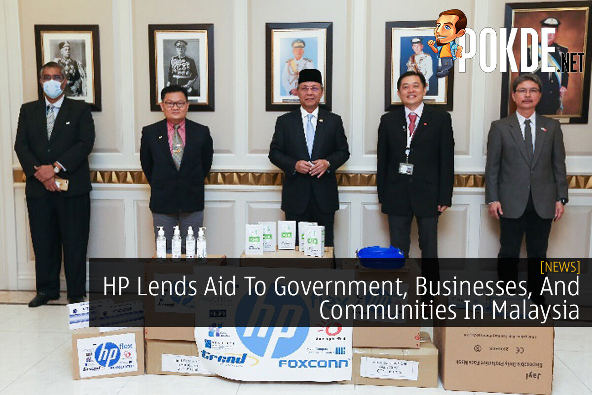 HP Lends Aid To Government, Businesses, And Communities In Malaysia 4