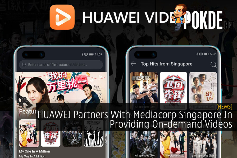 HUAWEI Partners With Mediacorp Singapore In Providing On-demand Videos 19
