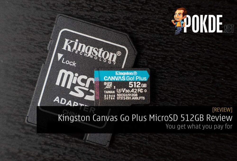 Kingston Canvas Go Plus MicroSD 512GB Review - You get what you pay for 21