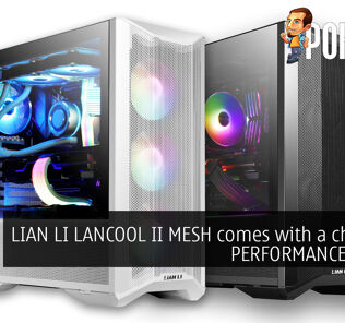 LIAN LI LANCOOL II MESH PERFORMANCE and RGB cover