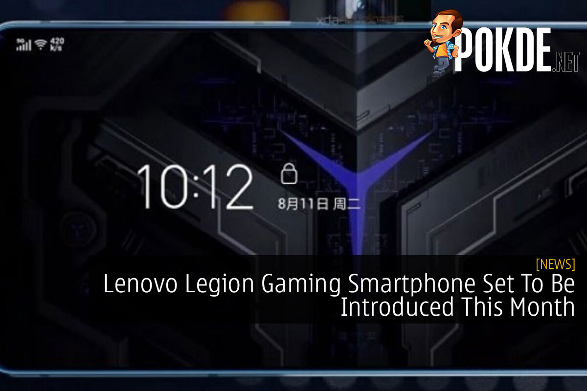Lenovo Legion Gaming Smartphone Set To Be Introduced This Month 6