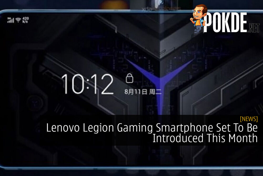 Lenovo Legion Gaming Smartphone Set To Be Introduced This Month 21