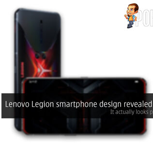 Lenovo Legion gaming smartphone cover