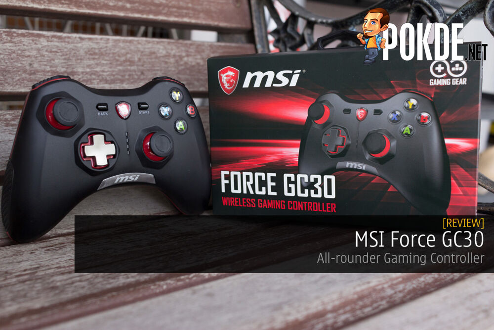 MSI Force GC30 Review — All-rounder Gaming Controller 26