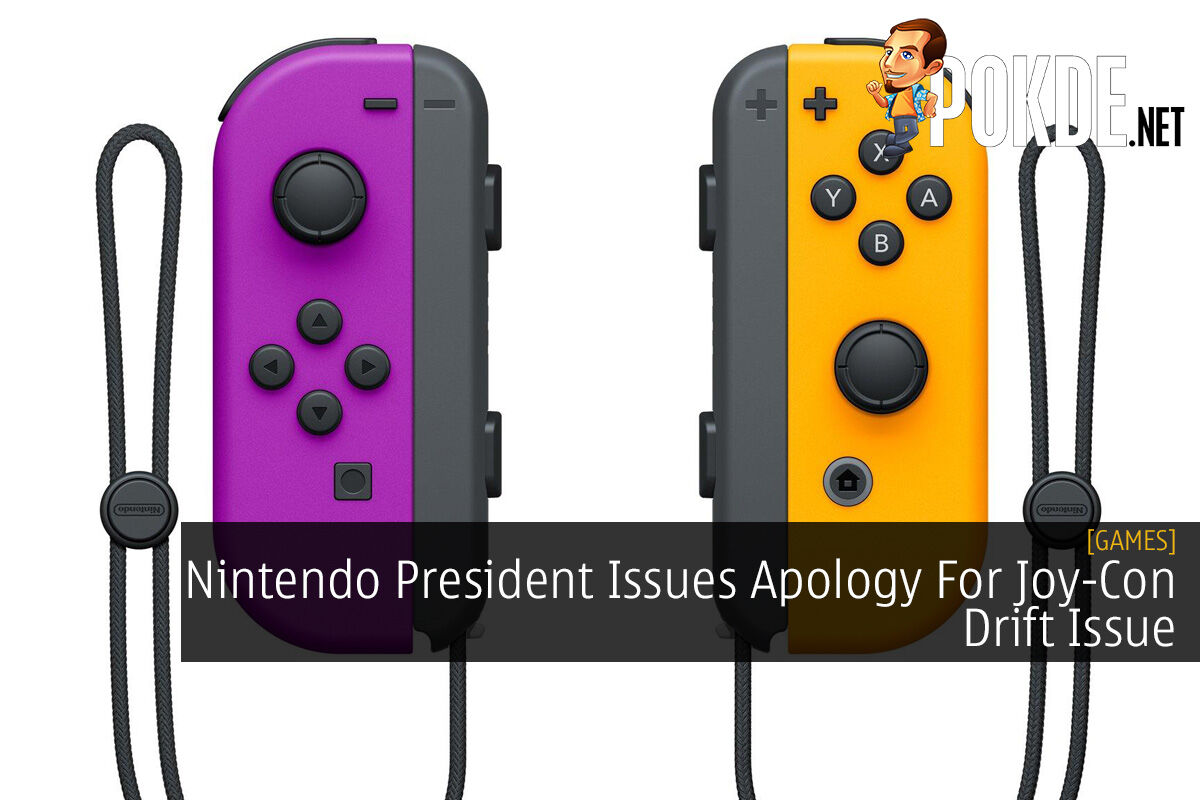Nintendo President Issues Apology For Joy-Con Drift Issue 10