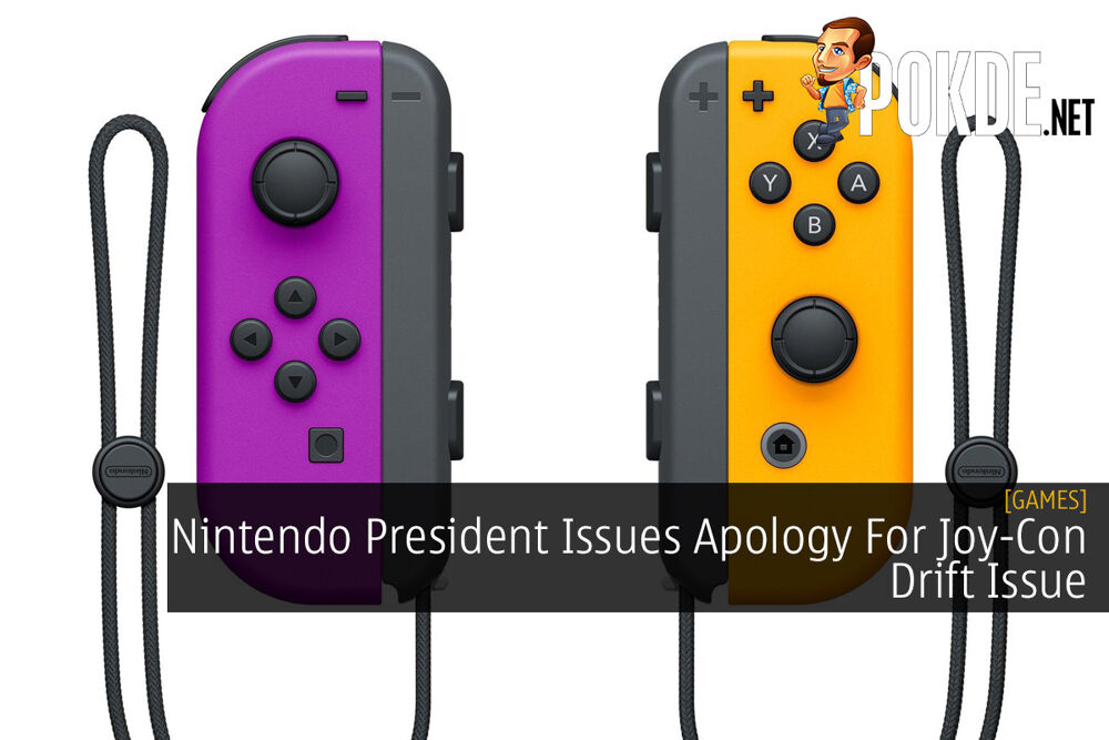 Nintendo President Issues Apology For Joy-Con Drift Issue 28