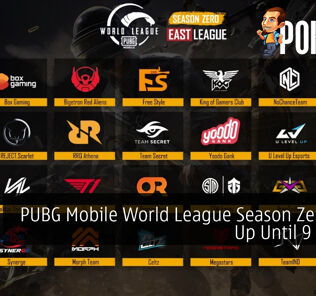 PUBG Mobile World League Season Zero Now Up Until 9 August 19