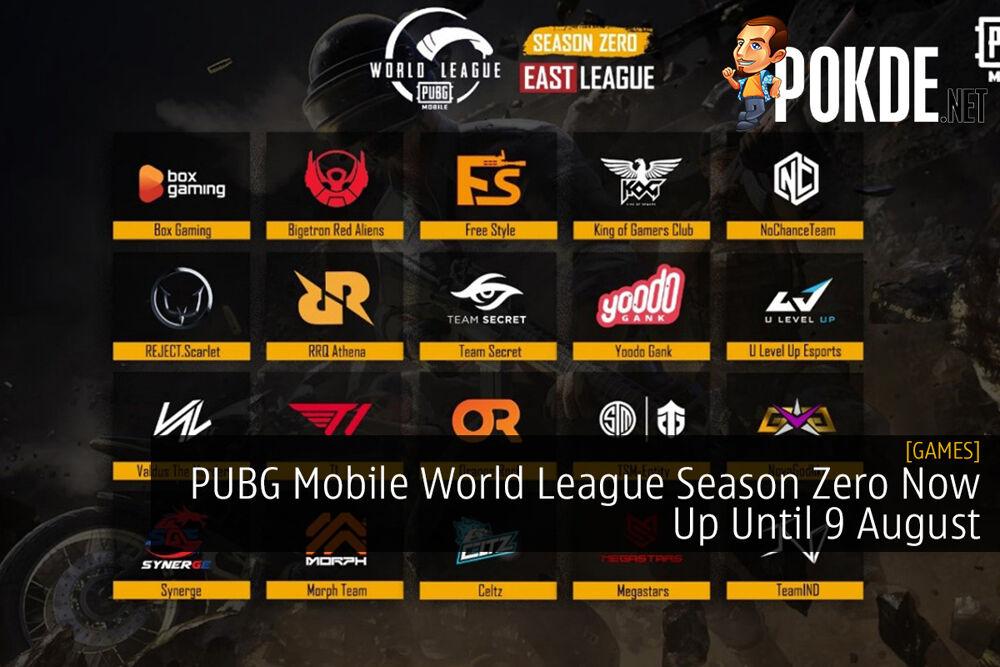 PUBG Mobile World League Season Zero Now Up Until 9 August 20