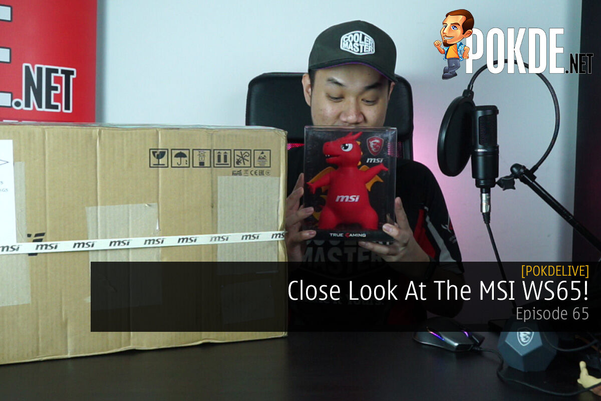 PokdeLIVE 65 — Close Look At The MSI WS65! 9