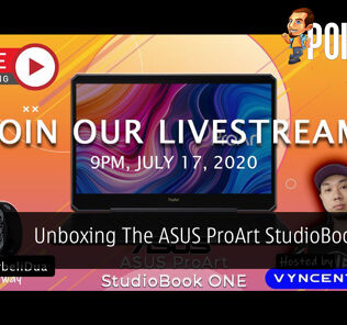 PokdeLIVE 66 — Unboxing The ASUS ProArt StudioBook One! 24