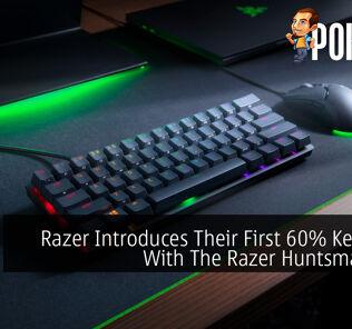 Razer Introduces Their First 60% Keyboard With The Razer Huntsman Mini 25