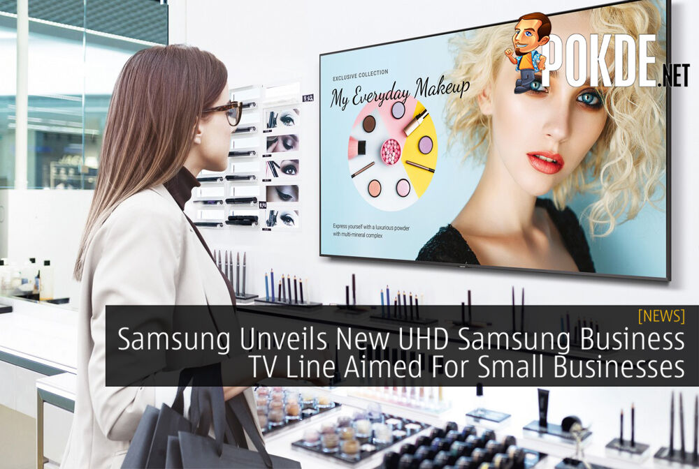 Samsung Unveils New UHD Samsung Business TV Line Aimed For Small Businesses 20