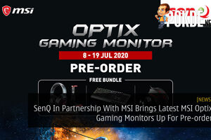 SenQ In Partnership With MSI Brings Latest MSI Optix Gaming Monitors Up For Pre-order 28
