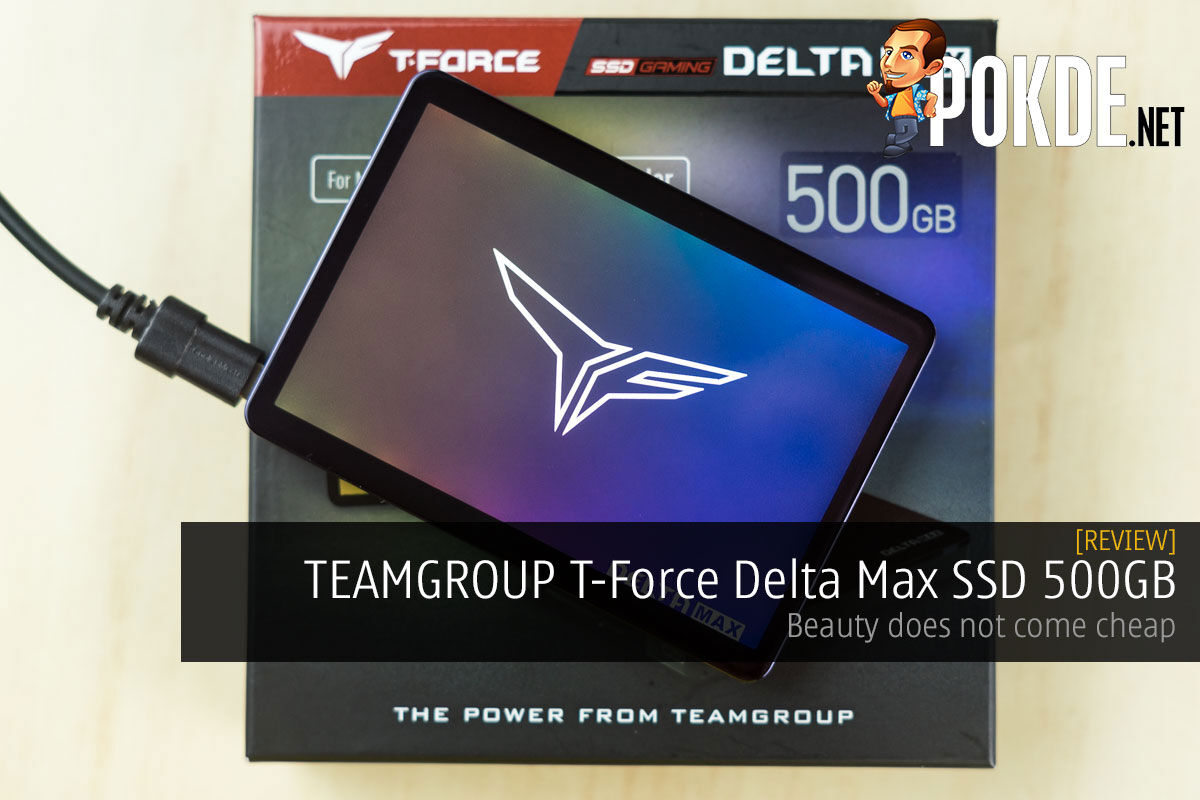 TEAMGROUP T-FORCE Delta Max SSD review cover