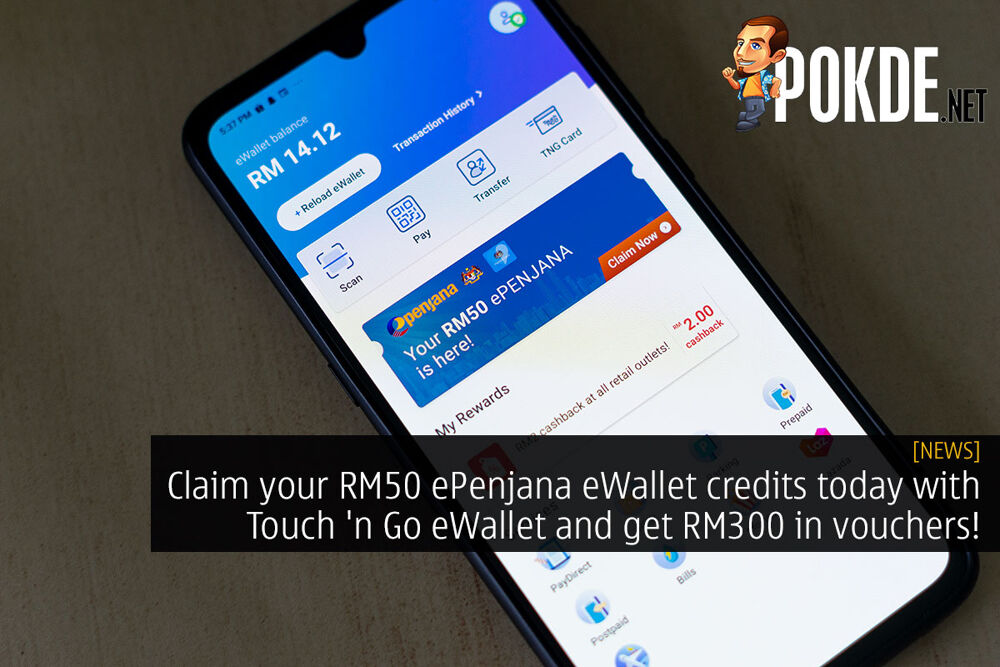 Touch n Go eWallet epenjana cover