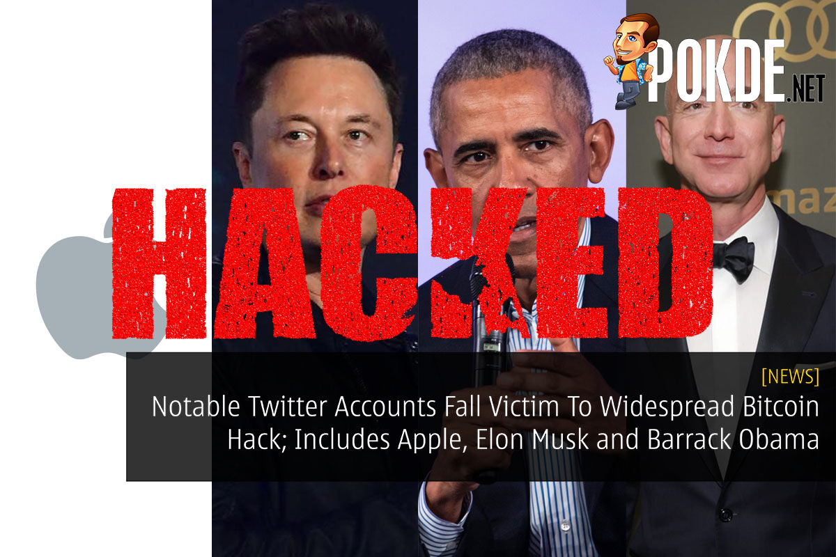Notable Twitter Accounts Fall Victim To Widespread Bitcoin Hack; Includes Apple, Elon Musk and Barrack Obama 6