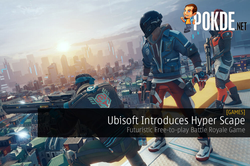 Ubisoft Introduces Hyper Scape — Futuristic Free-to-play Battle Royale Game 20