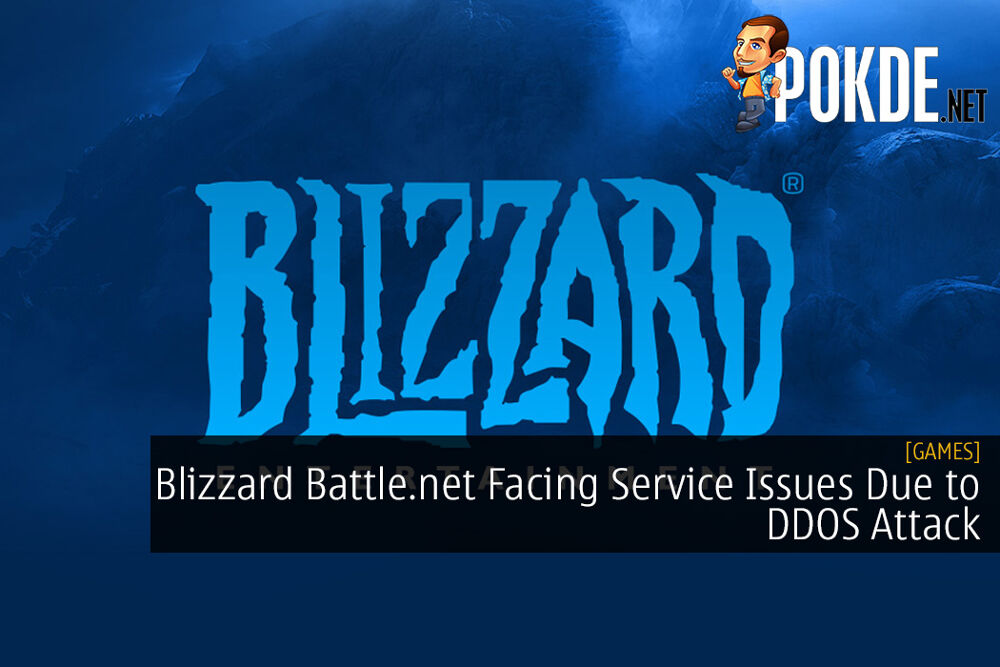 Blizzard Battle.net Facing Service Issues Due to DDOS Attack
