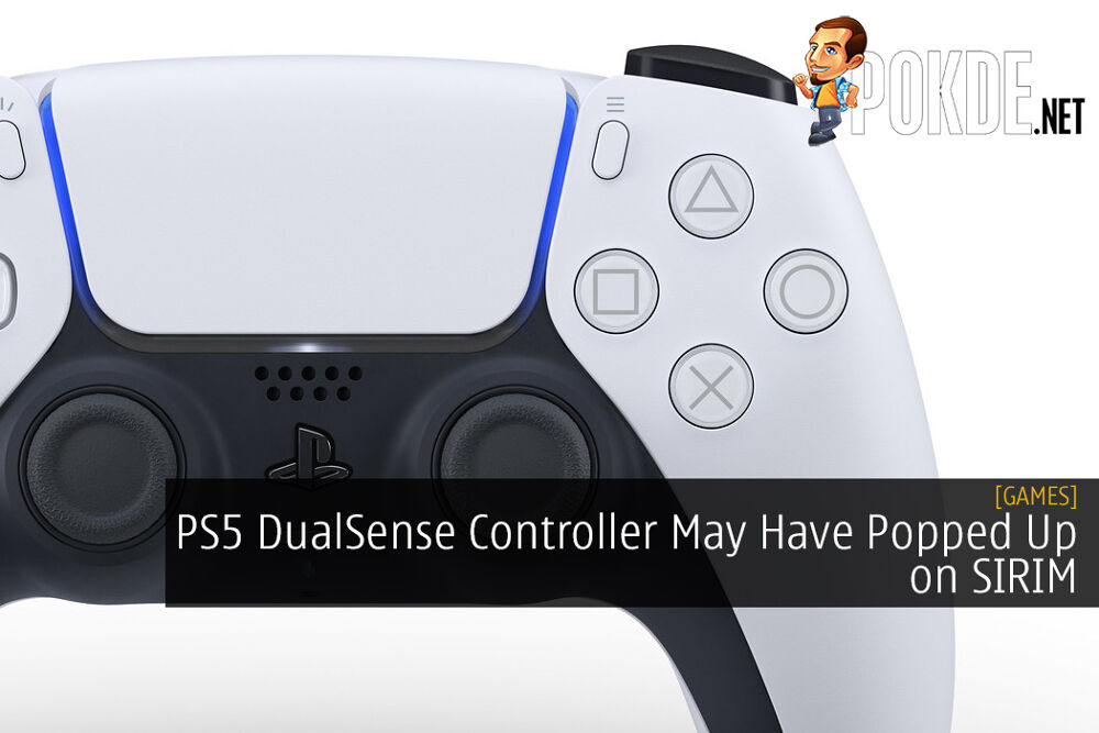 PS5 DualSense Controller May Have Popped Up on SIRIM
