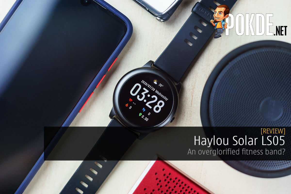 Haylou Solar Review — an overglorified fitness band? 8