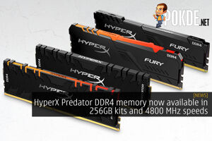 HyperX Predator DDR4 memory now available in 256GB kits and 4800 MHz speeds 32