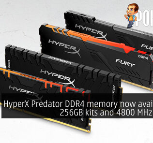 HyperX Predator DDR4 memory now available in 256GB kits and 4800 MHz speeds 30