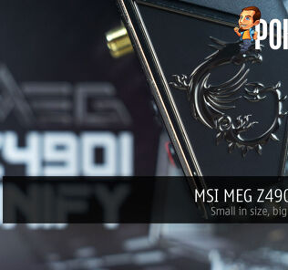msi meg z490i unify review cover