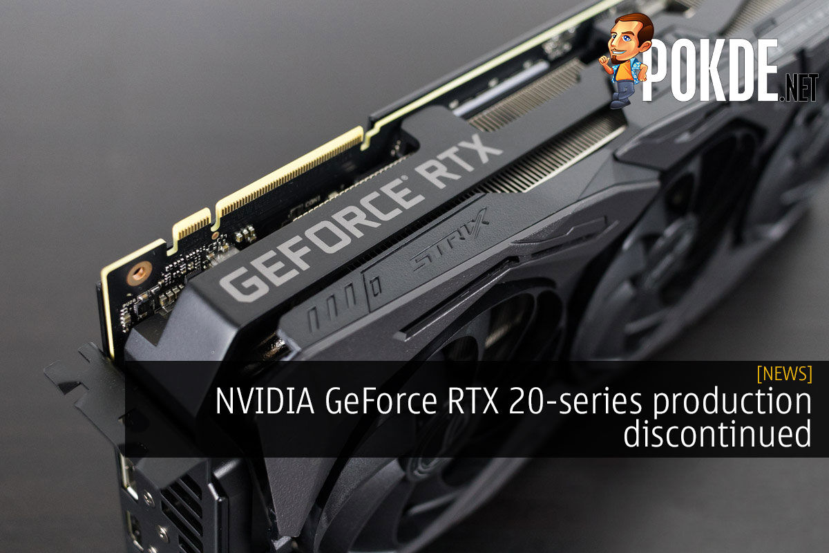 nvidia geforce rtx 20-series production discontinued cover