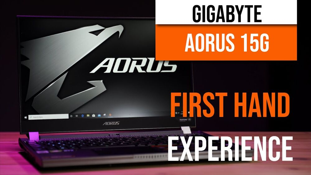 AORUS 15G First Hand Experience - Race car inspired design, heart racing performance 24