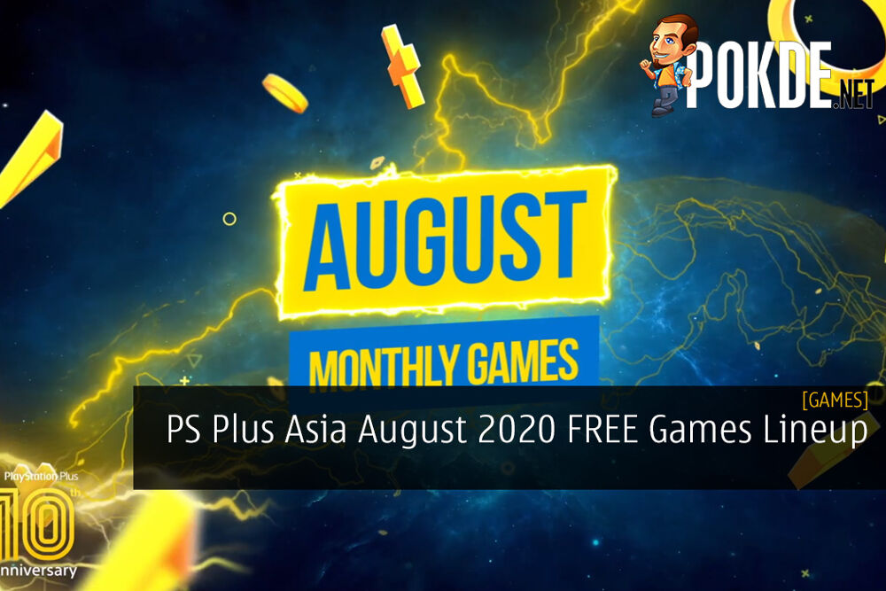 PS Plus Asia August 2020 FREE Games Lineup