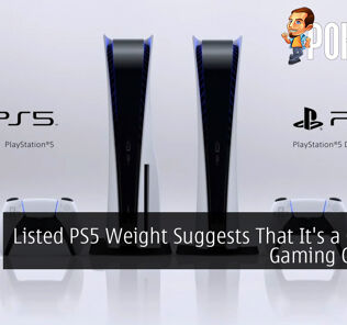 Listed PS5 Weight Suggests That It's a Chonky Gaming Console