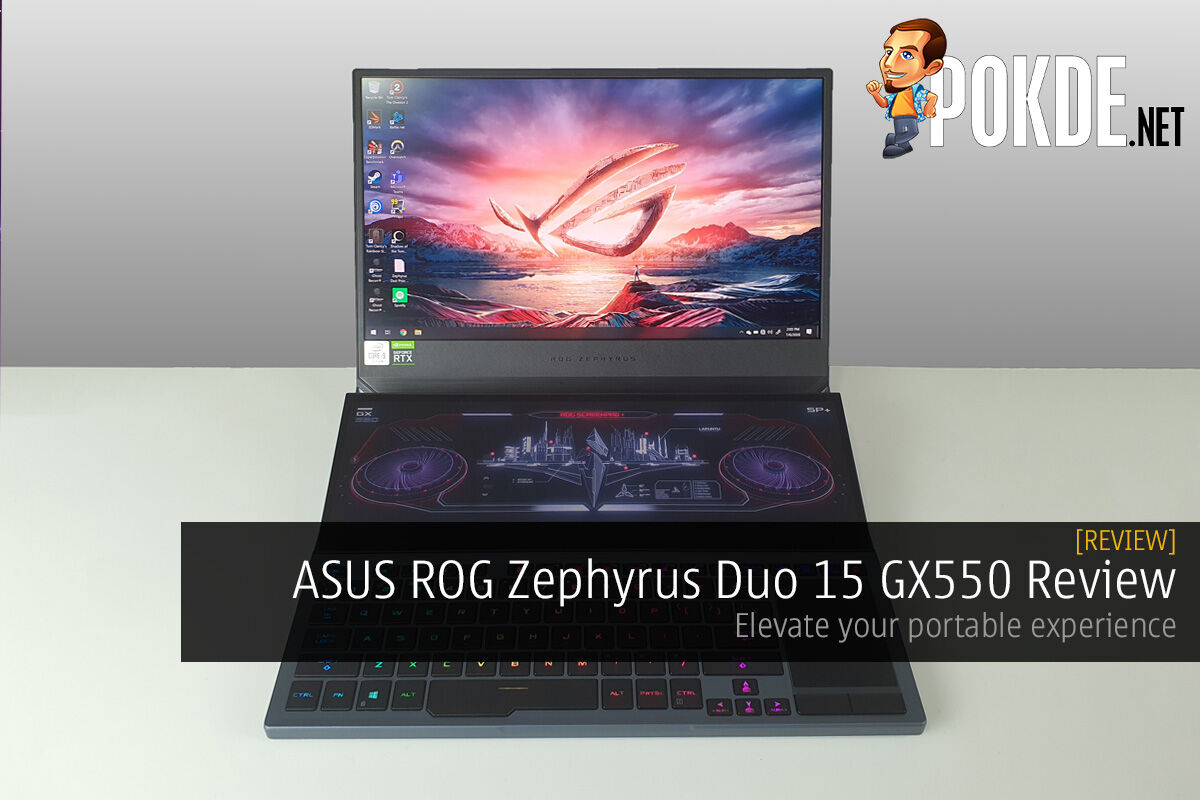 ASUS ROG Zephyrus Duo 15 GX550 Review — Elevate your portable experience 17