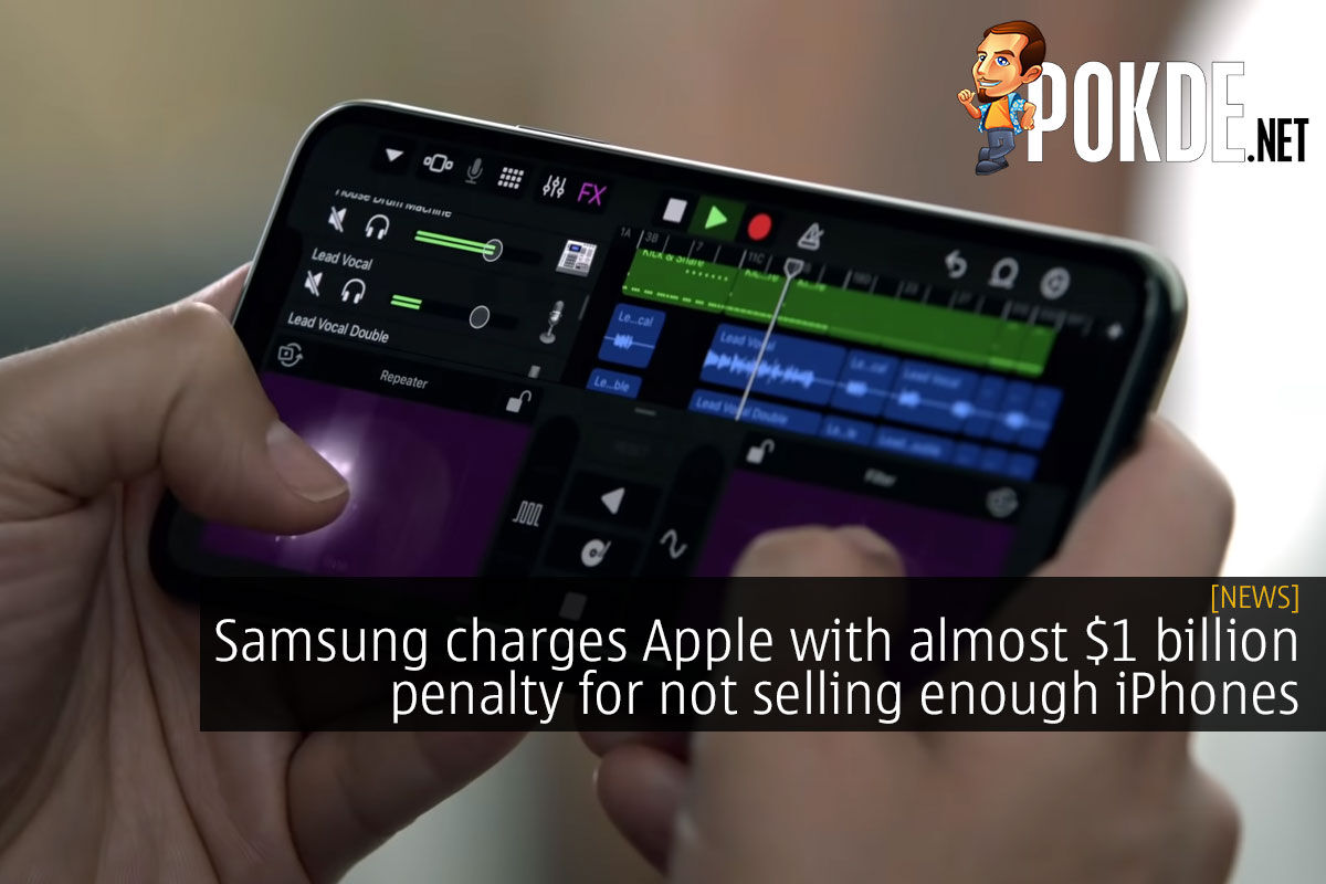 Samsung charges Apple with almost $1 billion penalty for not selling enough iPhones 6