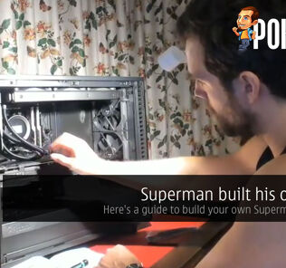 superman build cover