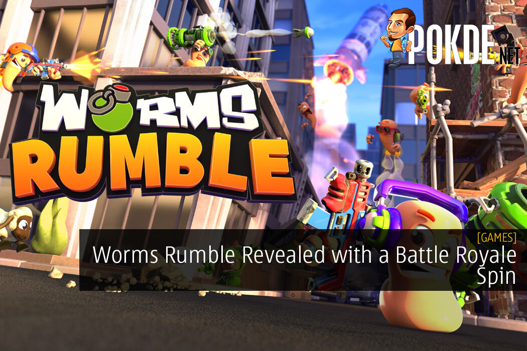 Worms Rumble Revealed with a Battle Royale Spin - Sign Up For Beta Here 9
